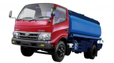 truck tangki toyota dyna 6 roda