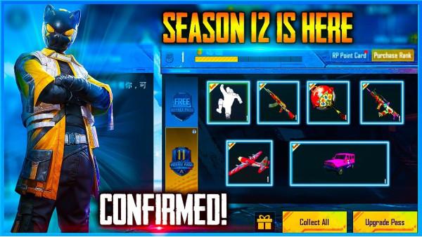 pubg season 12 New Weapon Skins